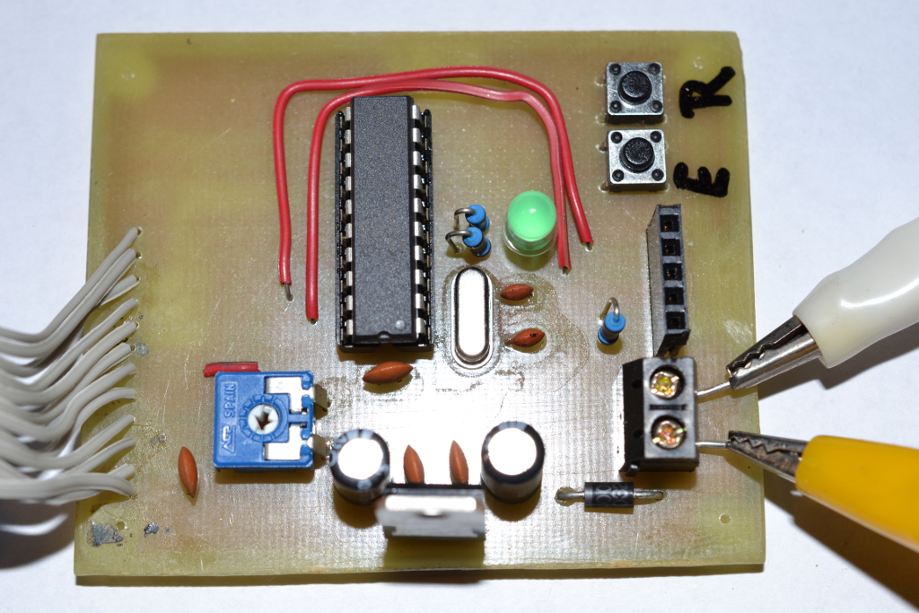 Circuit of the timer